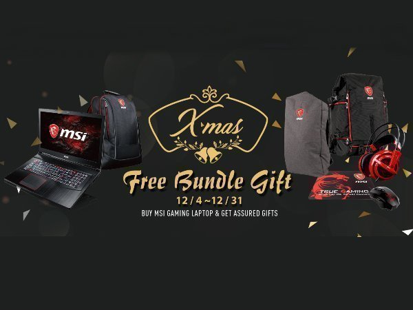 MSI unveils new GV series gaming laptops: Announces free bundled gifts