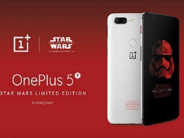 OnePlus 5T Star Wars limited edition model unveiled at Comic Con
