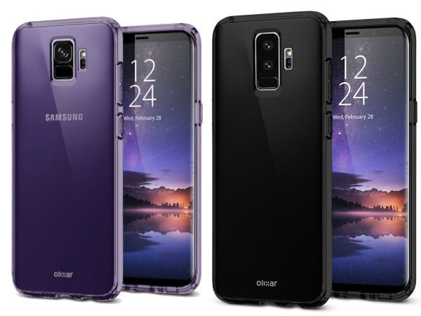 Possible Samsung Galaxy S9 and S9+ design revealed by case renders