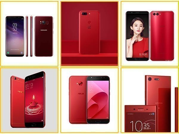 Red smartphones launched in 2017 prove that 'Red is the new Black'