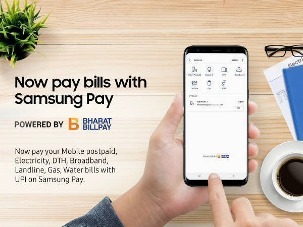 Now, pay utility bills through Samsung Pay