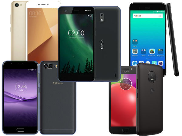 Best smartphones launched in 2017 between Rs 5,000 to Rs 8,000 range