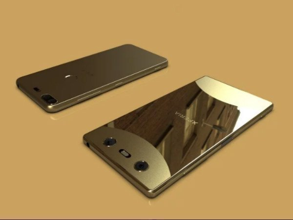 Two Sony flagship smartphones with full-screen design leak online
