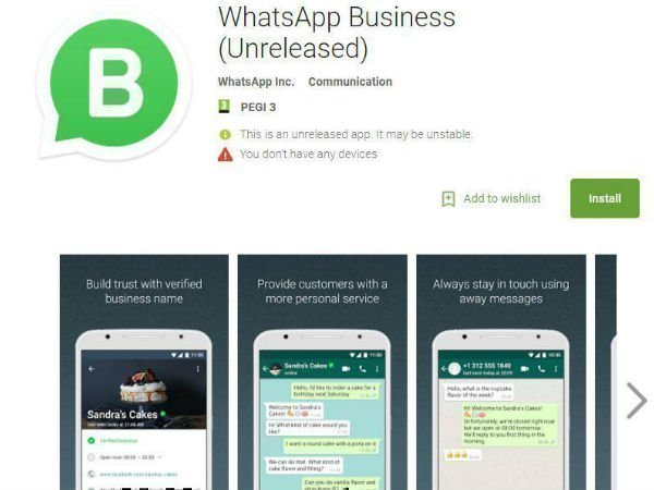 WhatsApp to launch a standalone business app soon