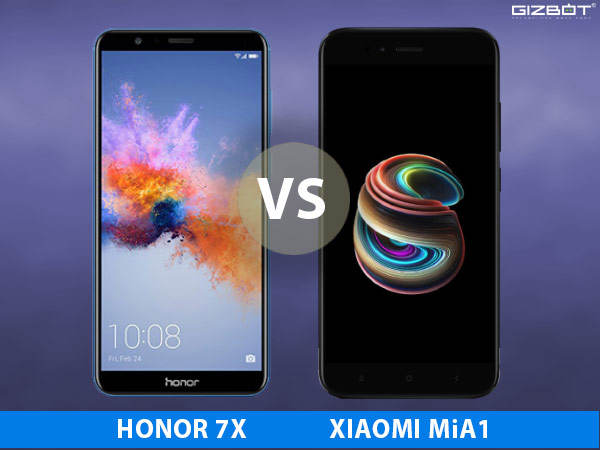 Honor 7X and Xiaomi MiA1 sports Dual lens cameras