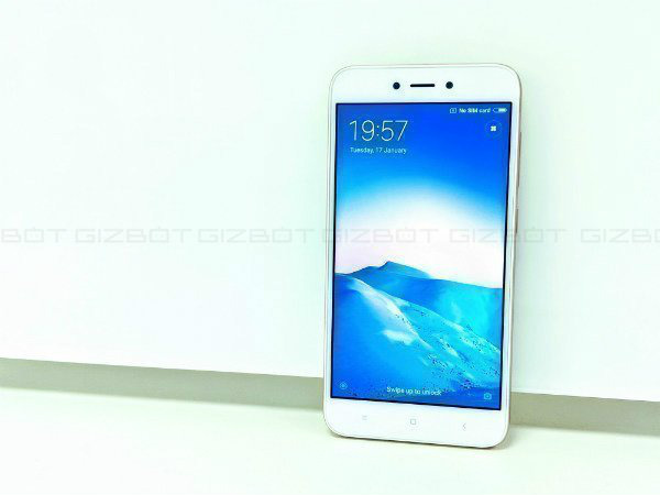 Xiaomi Redmi 5A 3GB model is up for sale offline at Rs. 7,499