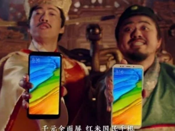 Xiaomi Redmi 5, Redmi 5 Plus appear in promotional videos