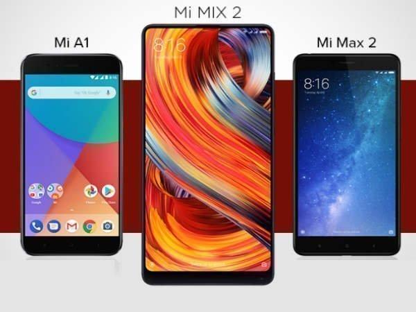 Xiaomi smartphones launched in 2017: Mi A1, Mi Note 3, Mi6 and more
