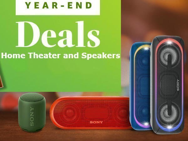 Year end sale: Get up to 60% off on home theatre systems and speakers