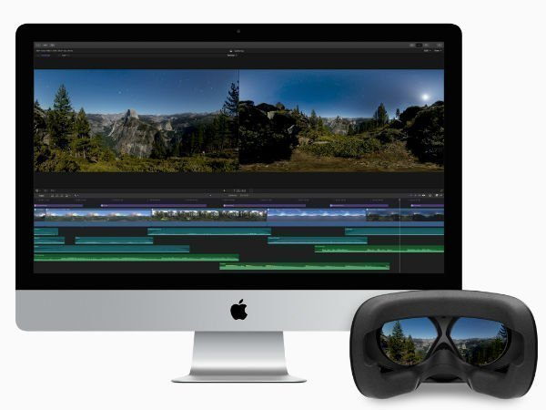 You can now edit 360-degree VR videos on Apple's Final Cut Pro X