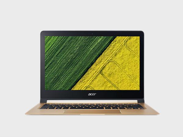 Acer announces Swift 7 at CES 2018, world's thinnest laptop