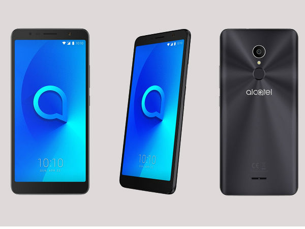 Alcatel 3C goes official with 6-inch 18:9 HD+ display, Android Nougat