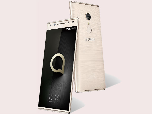 Alcatel 5 leaked in new render revealing its design