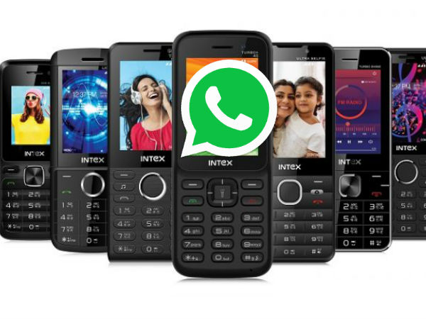 top best 8 Basic feature phones with WhatsApp support you can buy right now  under Rs. 4,000 - Gizbot News