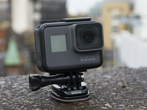 gopro announces hero 6 black at price of rs 37 000 in. Black Bedroom Furniture Sets. Home Design Ideas
