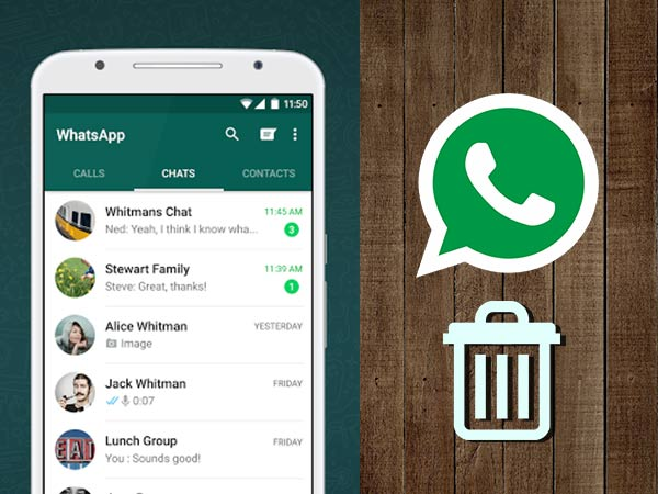 How to delete WhatsApp messages even after 7 minutes