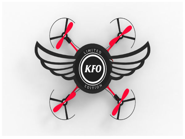 This KFC new meal comes in a flying drone box