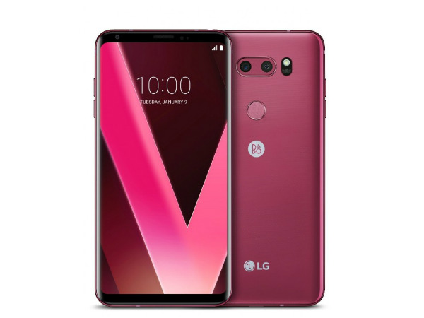 LG announces Raspberry Rose LG V30 edition ahead of CES 2018