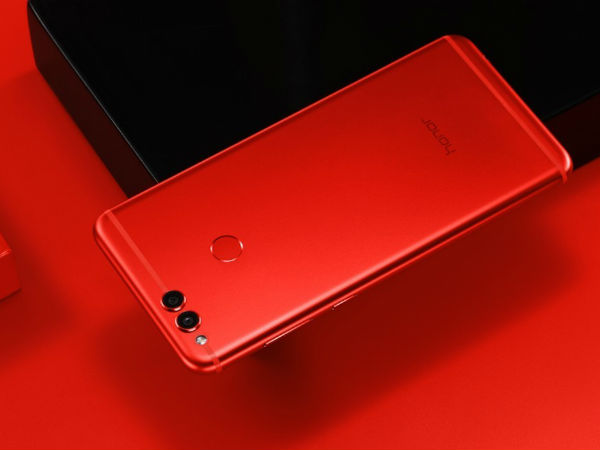 Limited edition Honor 7X Red announced; coming to India soon