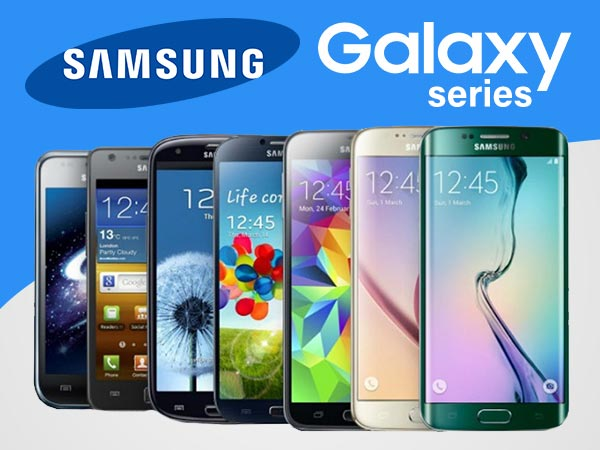Modifications that took place between Samsung's Galaxy S series