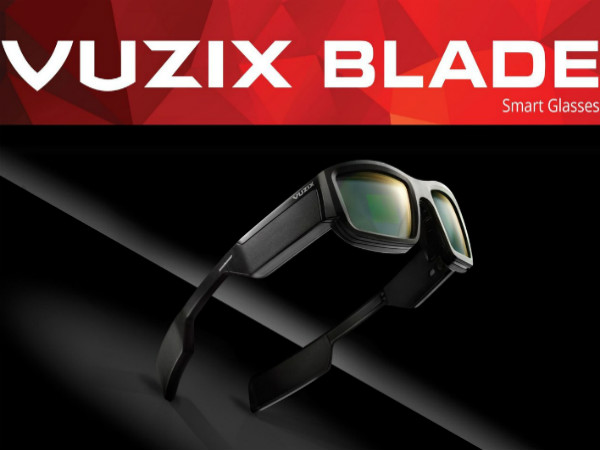 New Vuzix Blade AR smart glasses with Alexa to official at CES 2018
