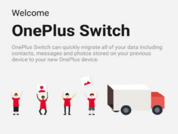 OnePlus Switch lets you transfer data to your new OnePlus device