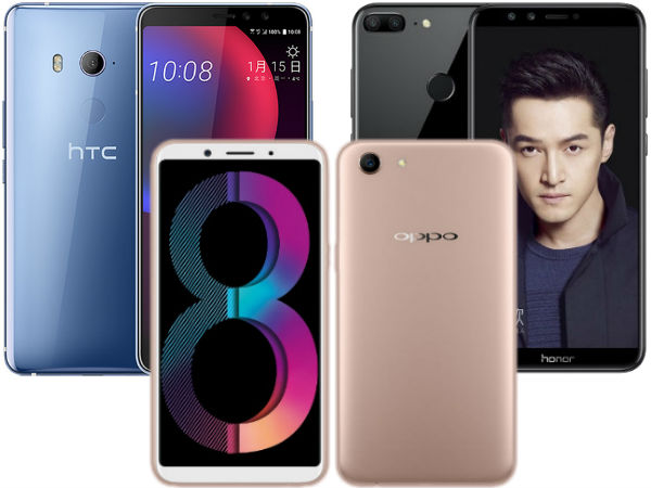 OPPO A83, Honor 9 Lite, HTC U11 EYEs, Galaxy Note8 and more: Week 3, 2018 launch round-up