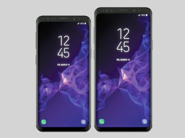Samsung Galaxy S9 and S9+ official render leaked: Not surprised at all