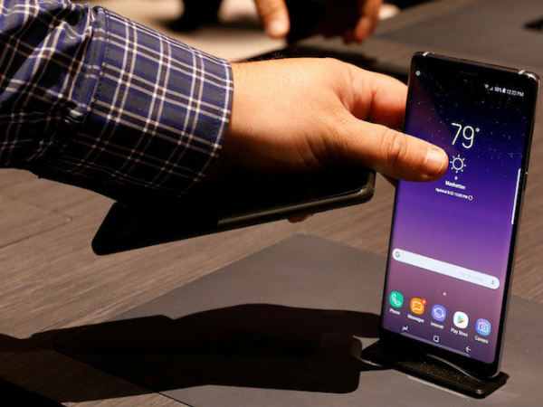 Samsung acknowledges the battery issue faced by Galaxy Note 8 users