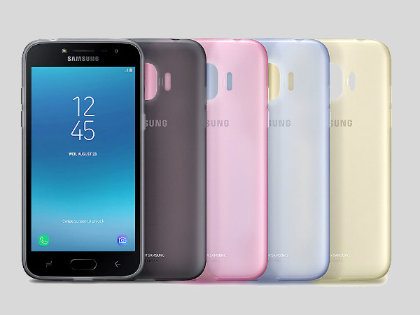 Samsung Galaxy J2 (2018) accessories listed on company's official webs