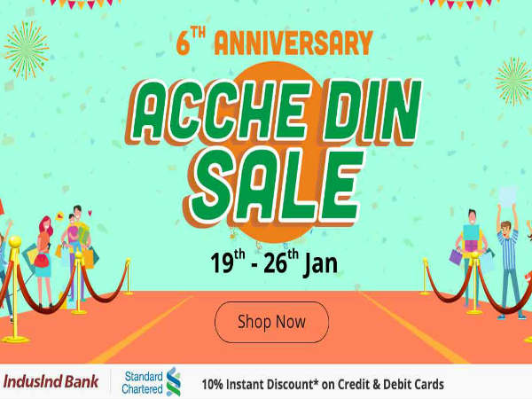 Shopclues announces its th anniversary sale up to