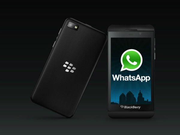 WhatsApp likely gets a two-week grace period on BlackBerry 10
