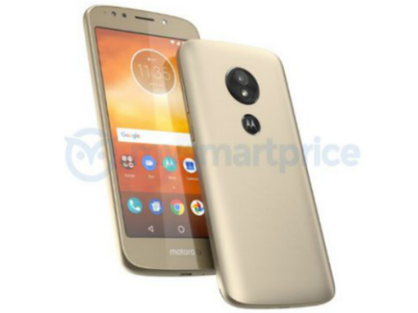 Alleged Moto E5 image leaks showing rear-facing fingerprint sensor