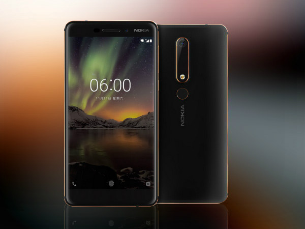 Nokia 6 (2018) Gets Google Play Support Alongside Android Oreo Update