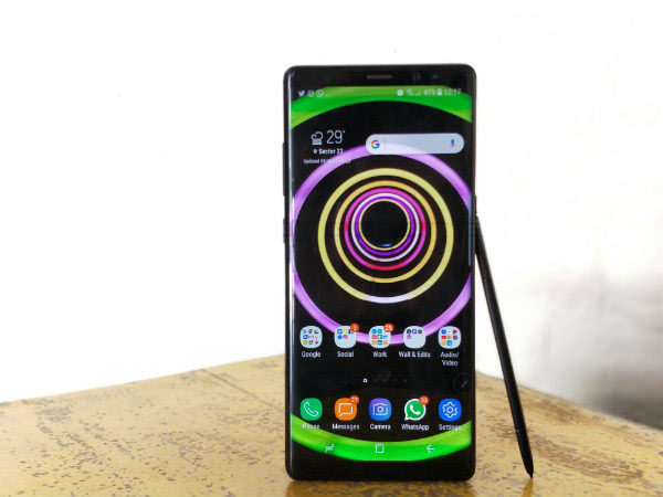 Samsung Galaxy Note 8 available with Rs. 8,000 cashback on Amazon