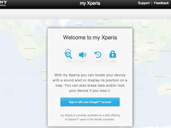 Sony discontinues 'my Xperia' remote tracking service for its smartphones