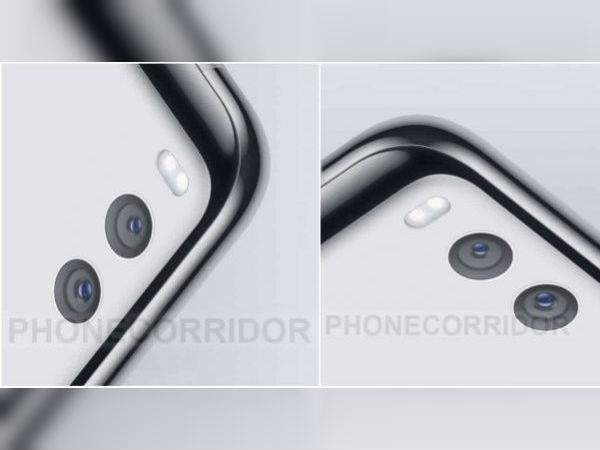 Xiaomi Mi 7 leaked render shows horizontal dual rear cameras