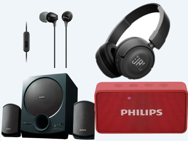 Flipkart Valentine's Day special discounts on headphones, speakers