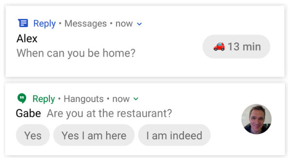 Google testing 'Reply,' a smart replies app for third-party apps