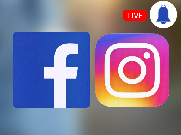 How to enable live notifications on Facebook and Instagram