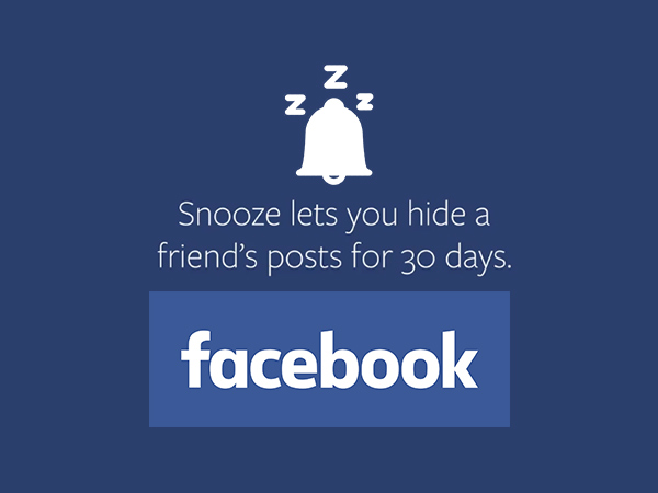 "How to ""Snooze"" an irritating person for 30 Days on Facebook?"