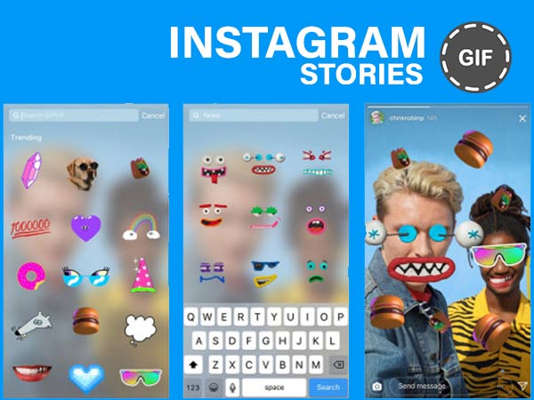 How to use GIF stickers on Instagram Stories