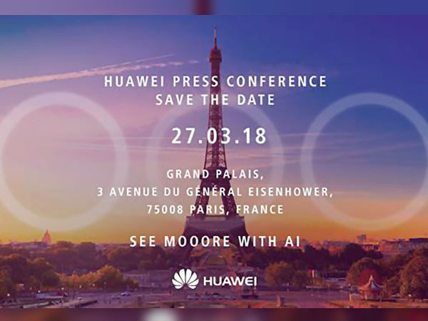 Huawei P20 launch confirmed on March 27; press invite out