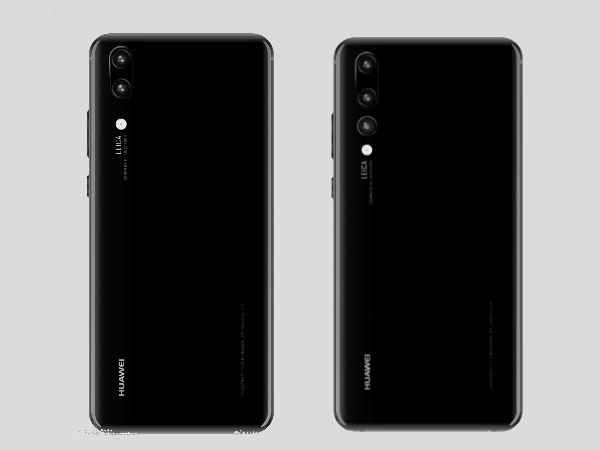 Huawei P20 and P20 Plus images leaked again: Shows triple camera setup