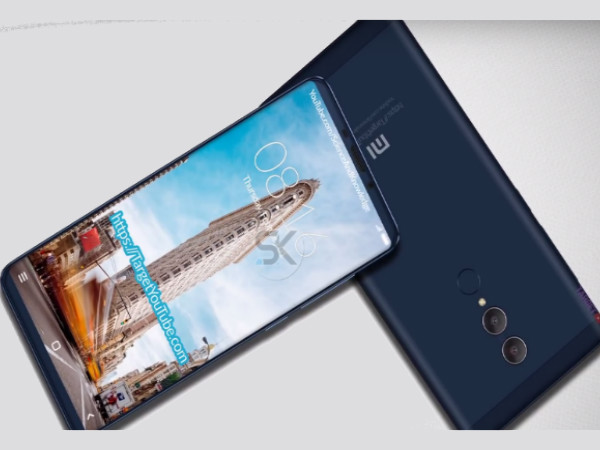 Is this how the Xiaomi Redmi Note 5 will look like?