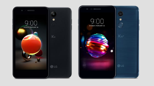 LG announces 2018 version of K8 and K10 smartphones; specs and features