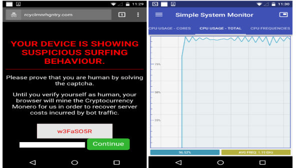 Beware! Millions of Android phones hacked to mine cryptocurrency