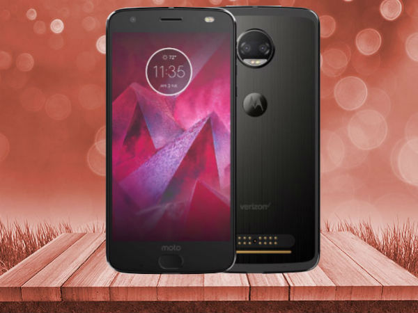 Moto Z2 Force with shatterpoof display launched at Rs. 34,999