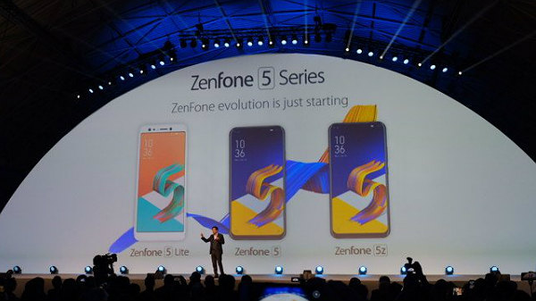 MWC 2018: Asus ZenFone 5Z, ZenFone 5, and ZenFone 5 Lite launched