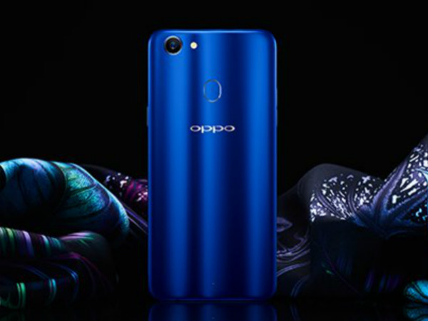 Oppo F5 Sidharth Limited Edition in Blue to be launched tomorrow